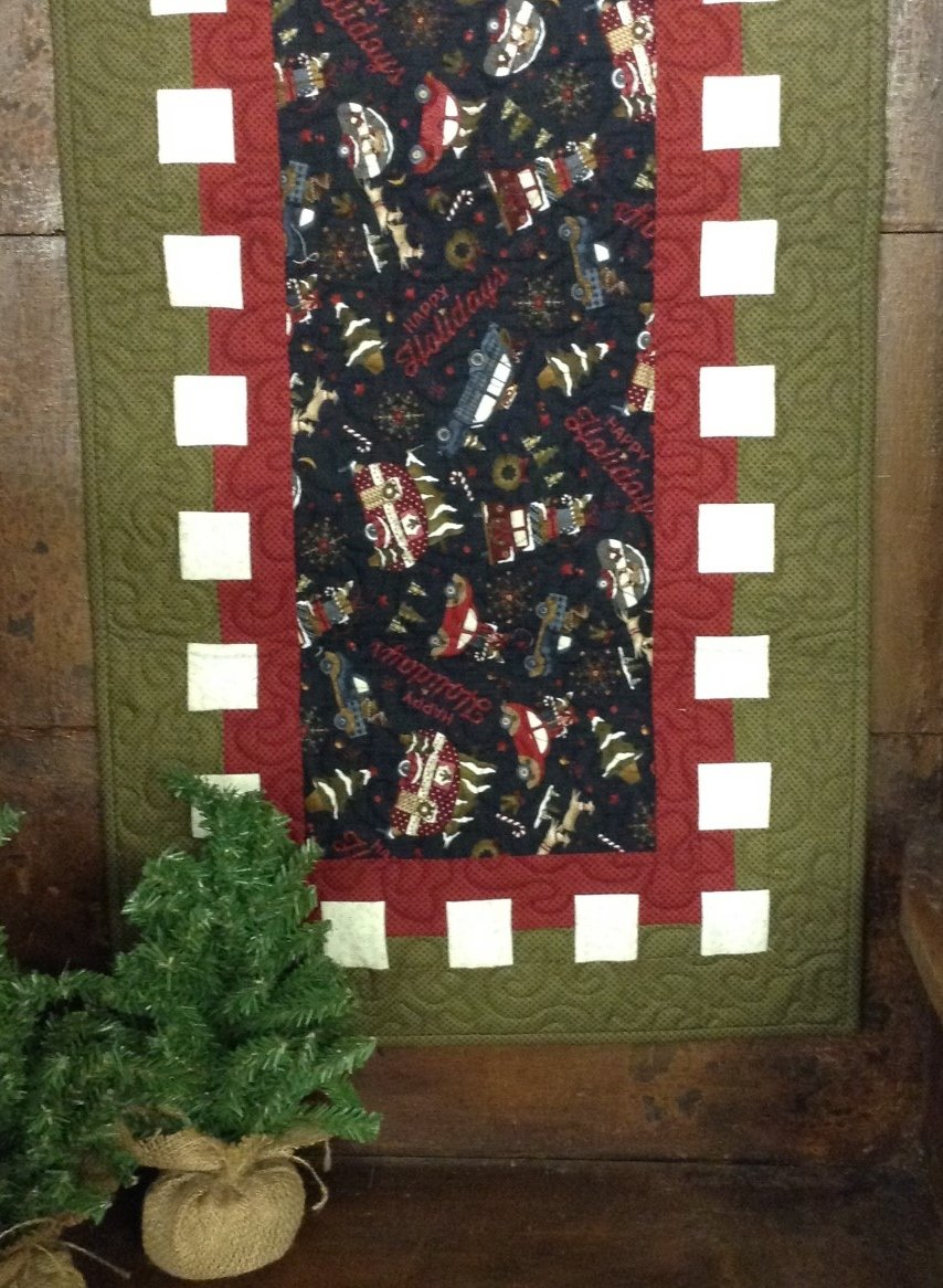 Waffle Time  - Winter Table Runner