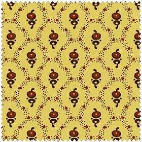 New Colonies - Yellow (1 3/4 yards)