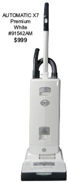 Sebo Automatic X7 Premium Boost White