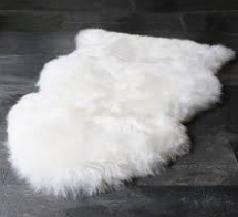 Lambswool Rug - Longwool Tan