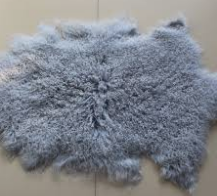 Lambswool Rug - Shortwool Grey