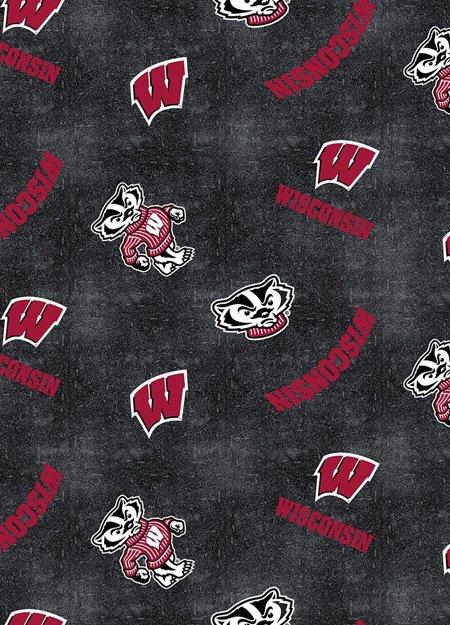UW-Wisconsin Flannel-Toss-1152