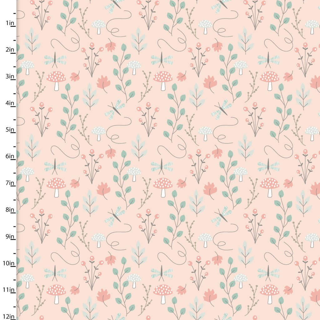 Little Ones- Lo Woodsy Floral Peach