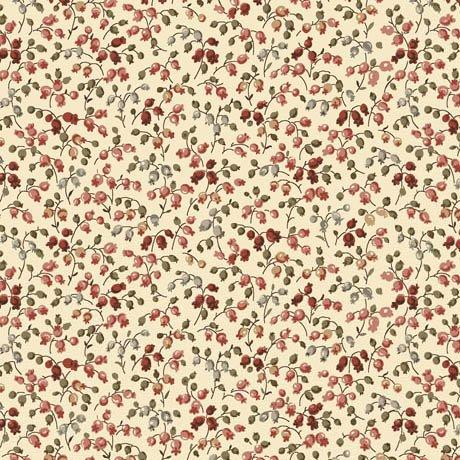 Ashford: Mini Floral Ecru-24549-E