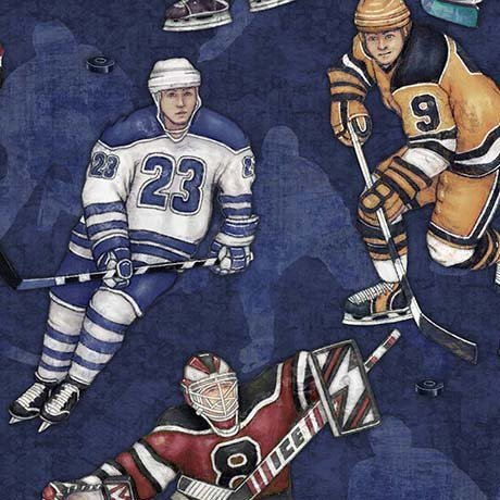 Face Off-Hockey Players-26344-N