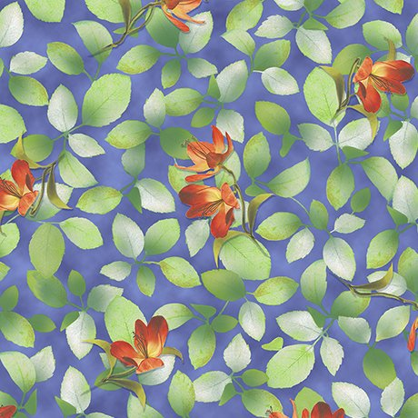 Belle-Flower & Leaf-26419-W