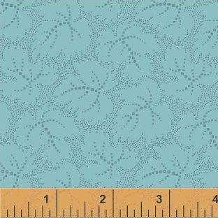 Color Wall-Blue Leaf-50656-4