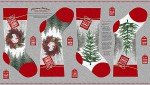 HOLIDAY TRADITIONS STOCKING PANEL  HG-6546P-90