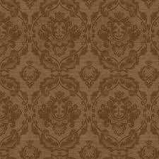 COFFEE MOMENT BROWN DAMASK