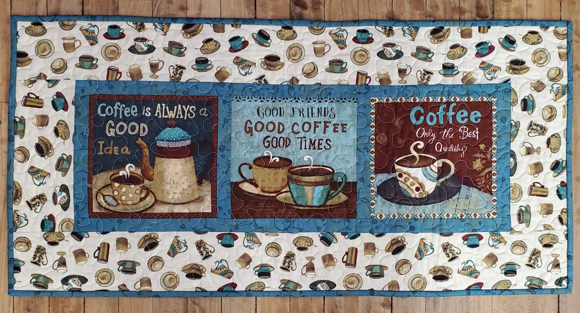 Coffee Shop Table Runner Kit