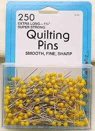 Collins Quilting Pins 250ct