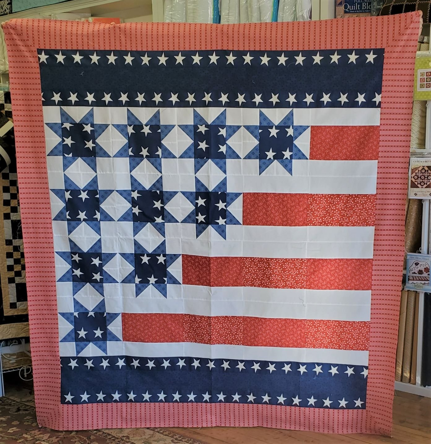 Flags Waving Quilt Kit
