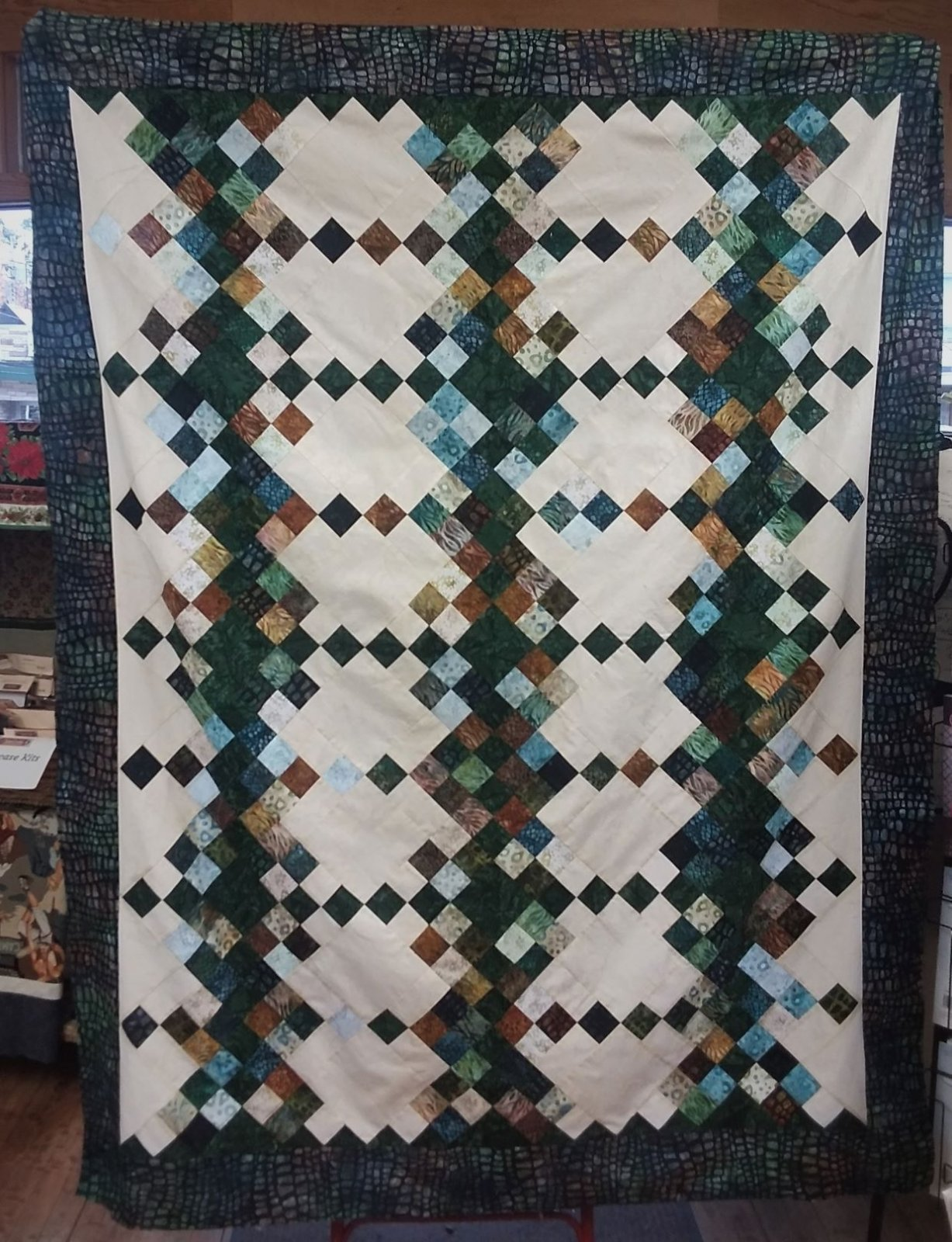 Hidden Terrace Quilt Kit