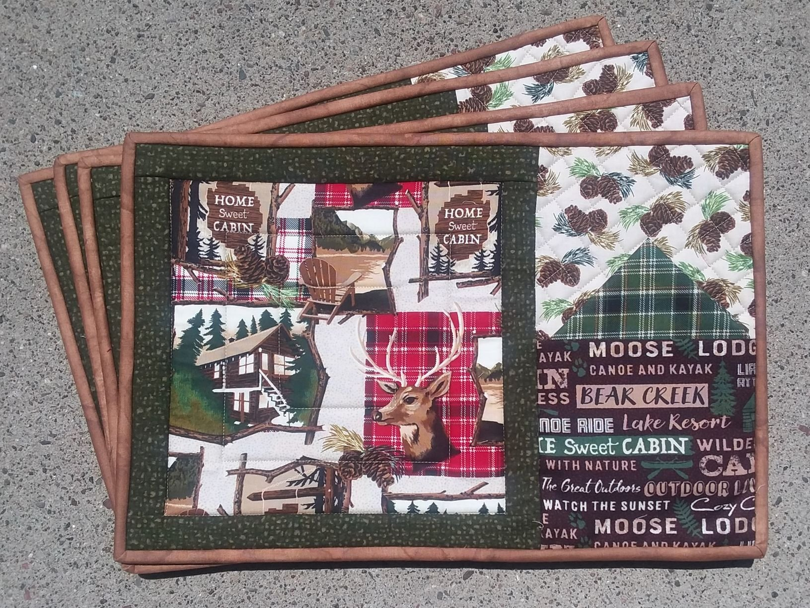 Home Sweet Cabin Placemat Kit