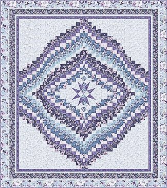 Jacqueline Bargello Star Quilt Kit