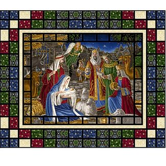 Miracle In Bethlehem Wall Hanging Kit