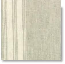 TOWEL FABRIC - FLAX W/CREAM STRIPE
