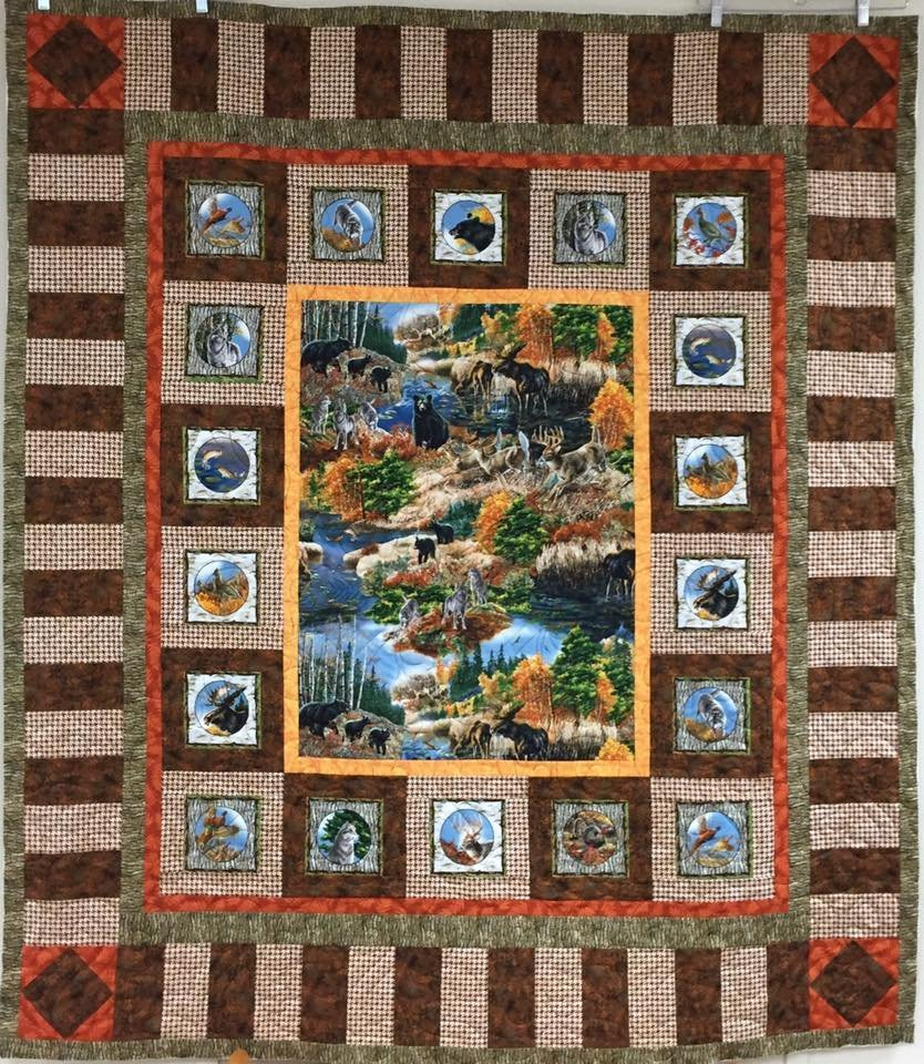 Nature's Glory Quilt Kit