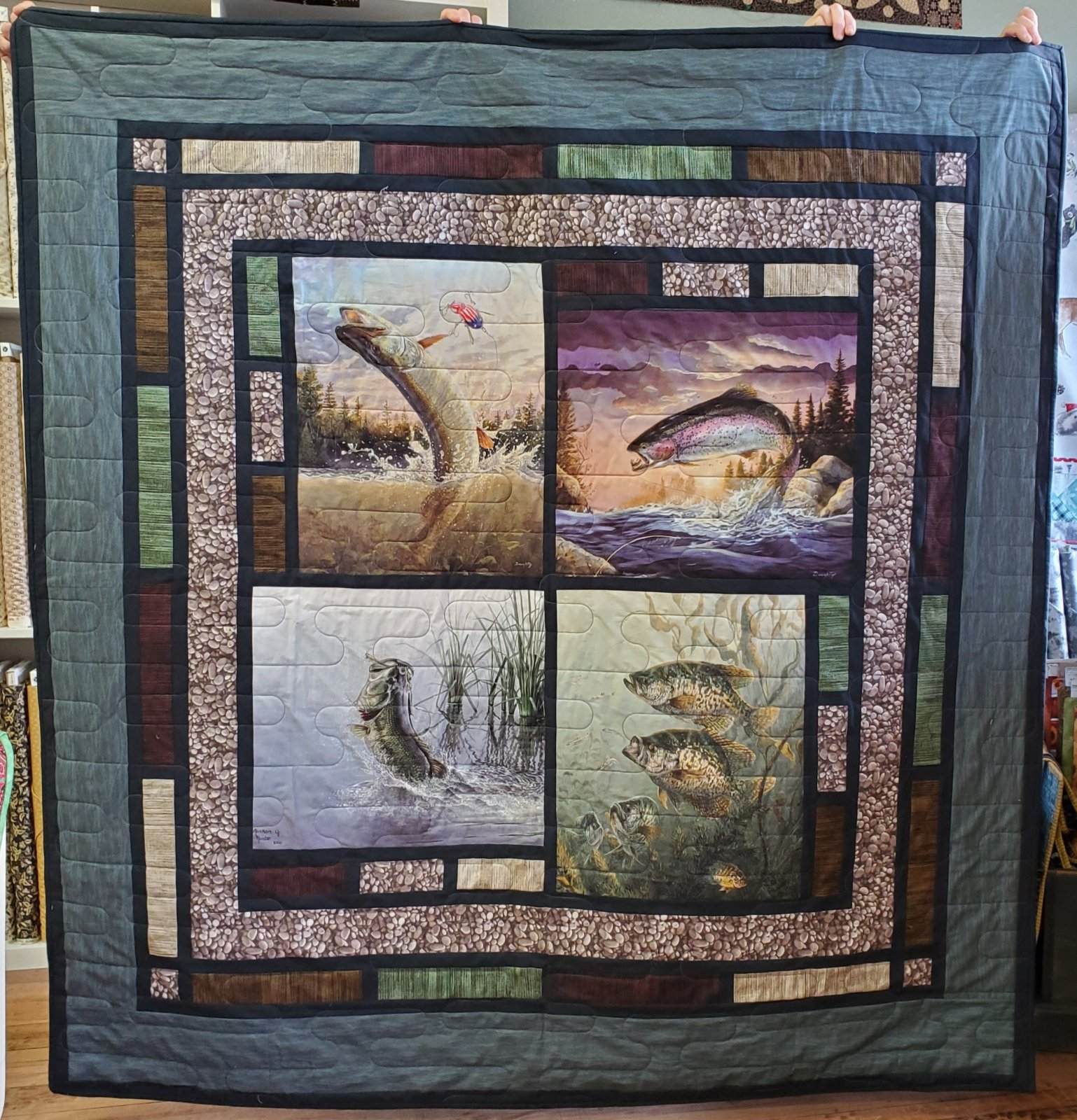 Northwoods Fish Fry Quilt Kit
