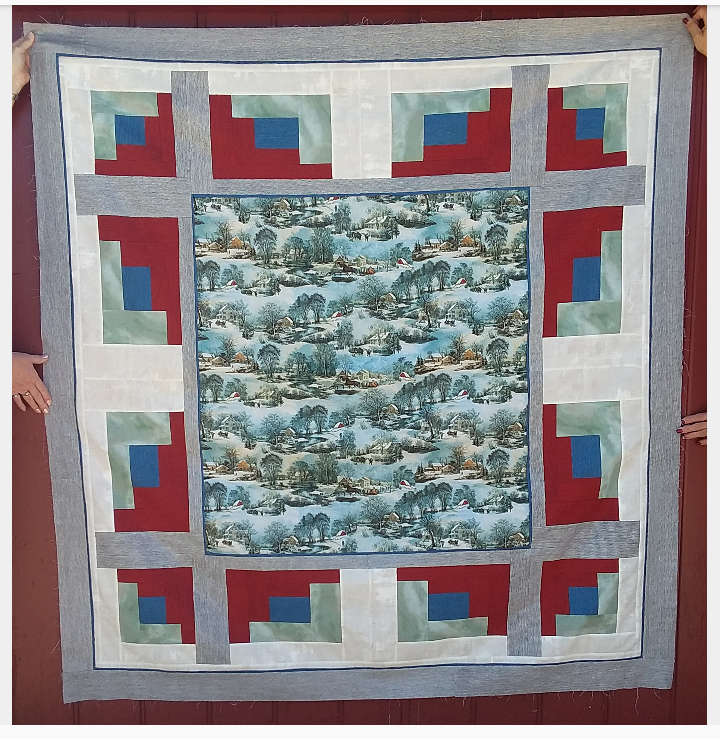 On Frozen Pond Quilt Kit