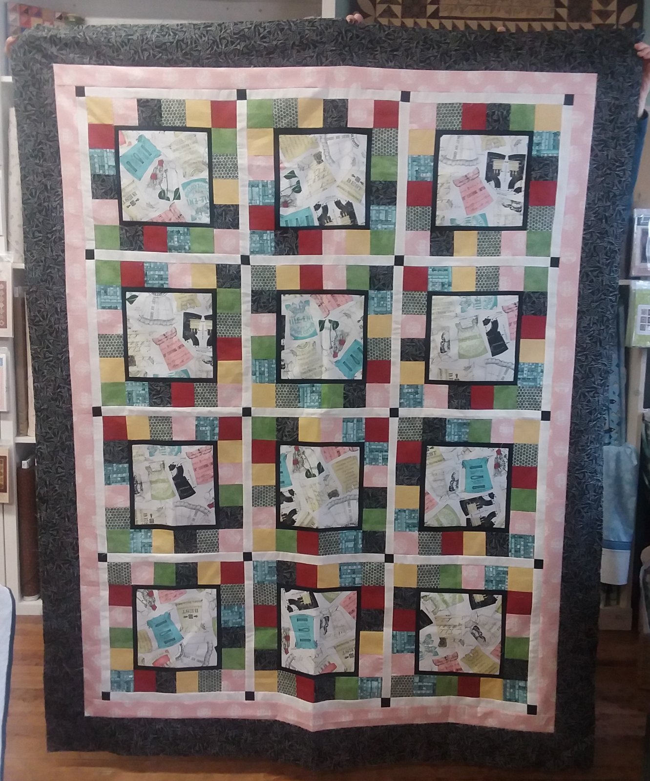 The Quilting B's Quilt Kit