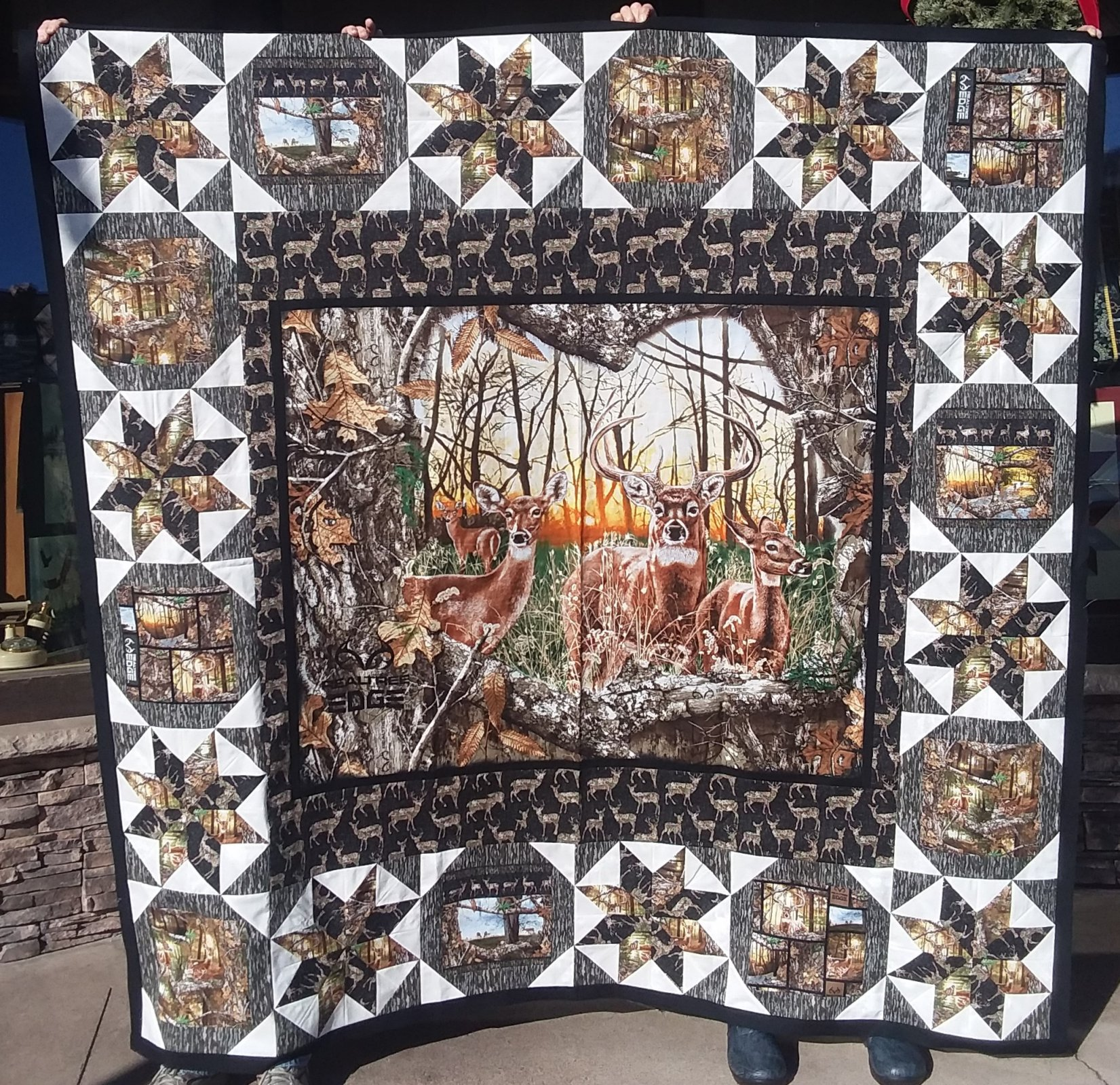 Realtree Edge Sunrise Quilt Kit