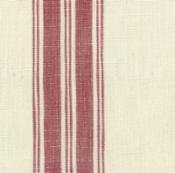 TOWEL FABRIC - RED STRIPE