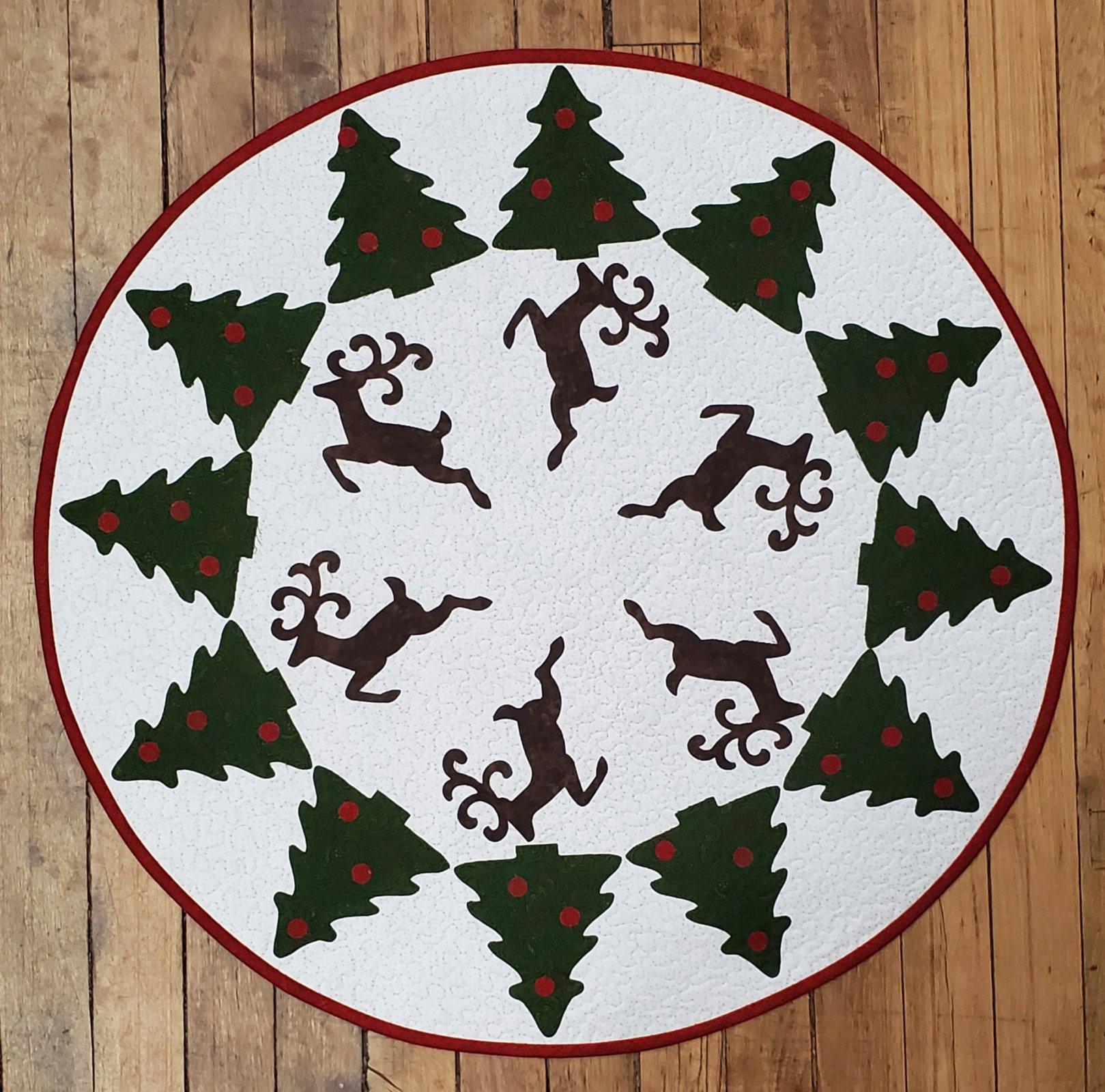 Reindeer Dance Table Topper Kit