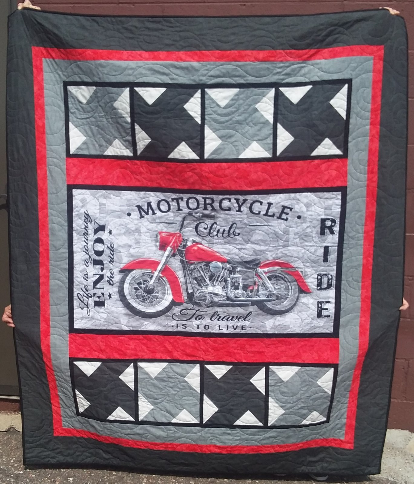 Ride Into Fall Quilt Kit