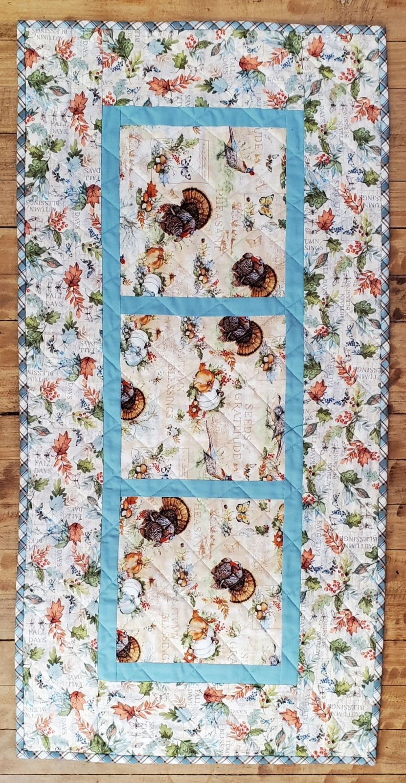 Seeds of Gratitude Table Runner Kit