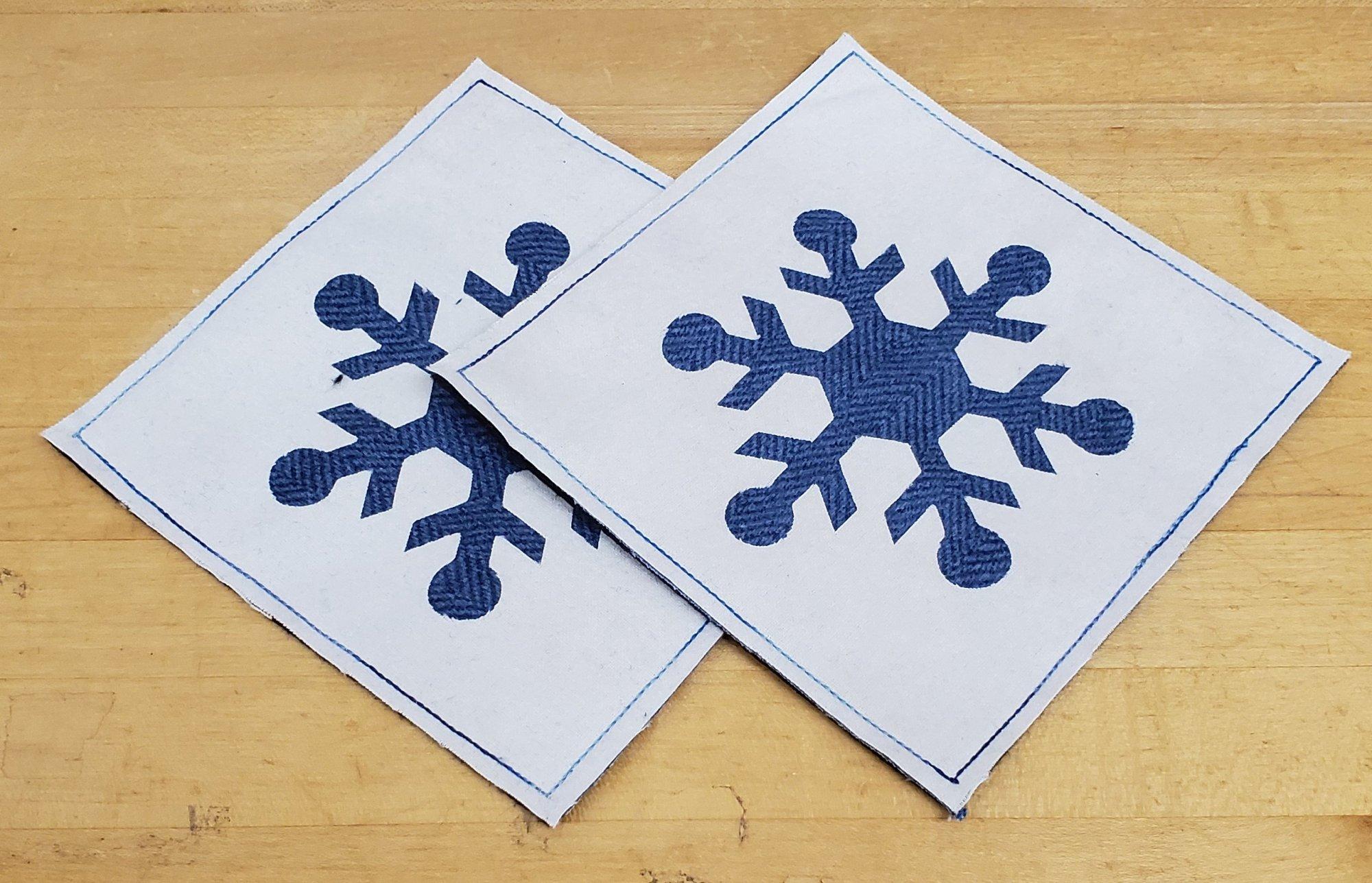 Snowflake Mug Rug Kit