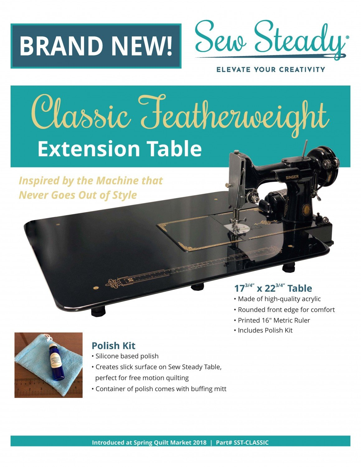 Featherweight Bed Extension