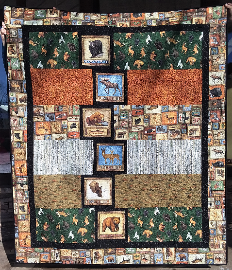 Timberland Trail Quilt Sample