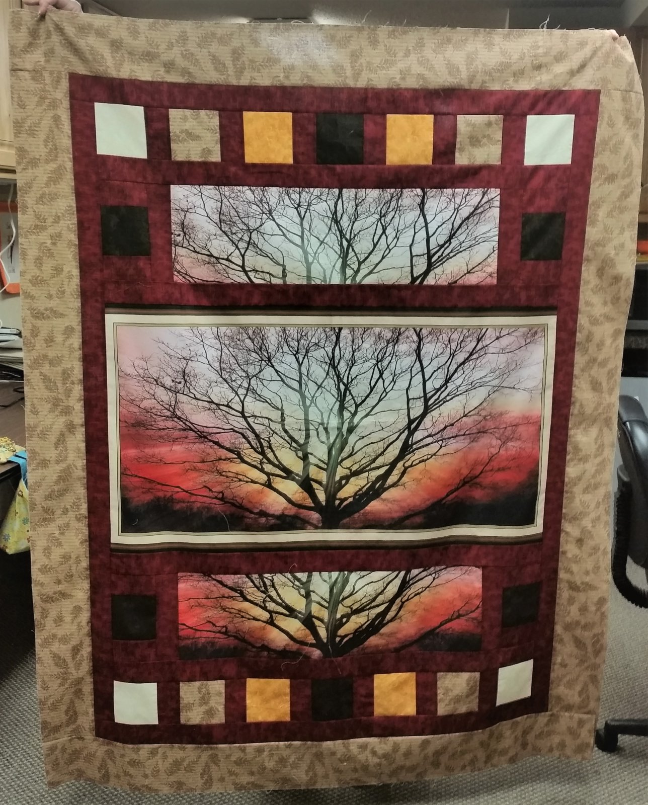 Tree of Life Quilt Kit