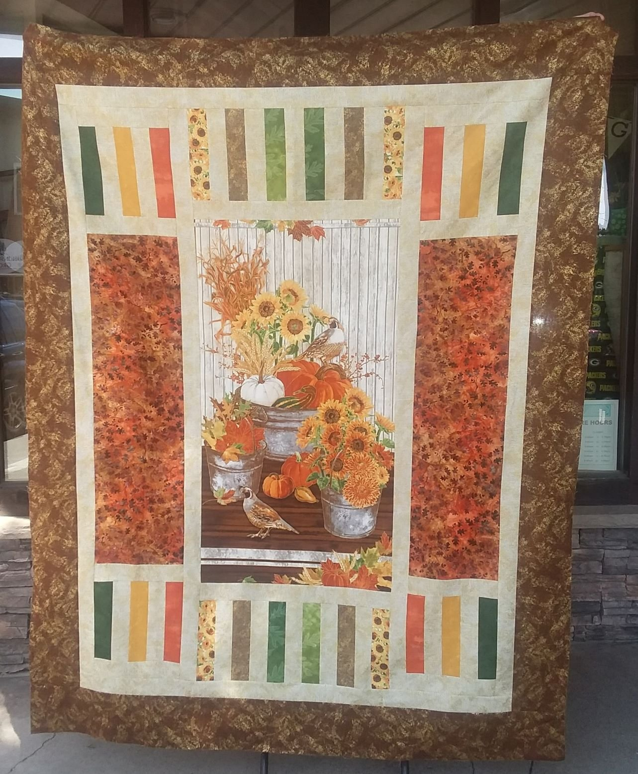 Trifecta Fall Quilt Kit