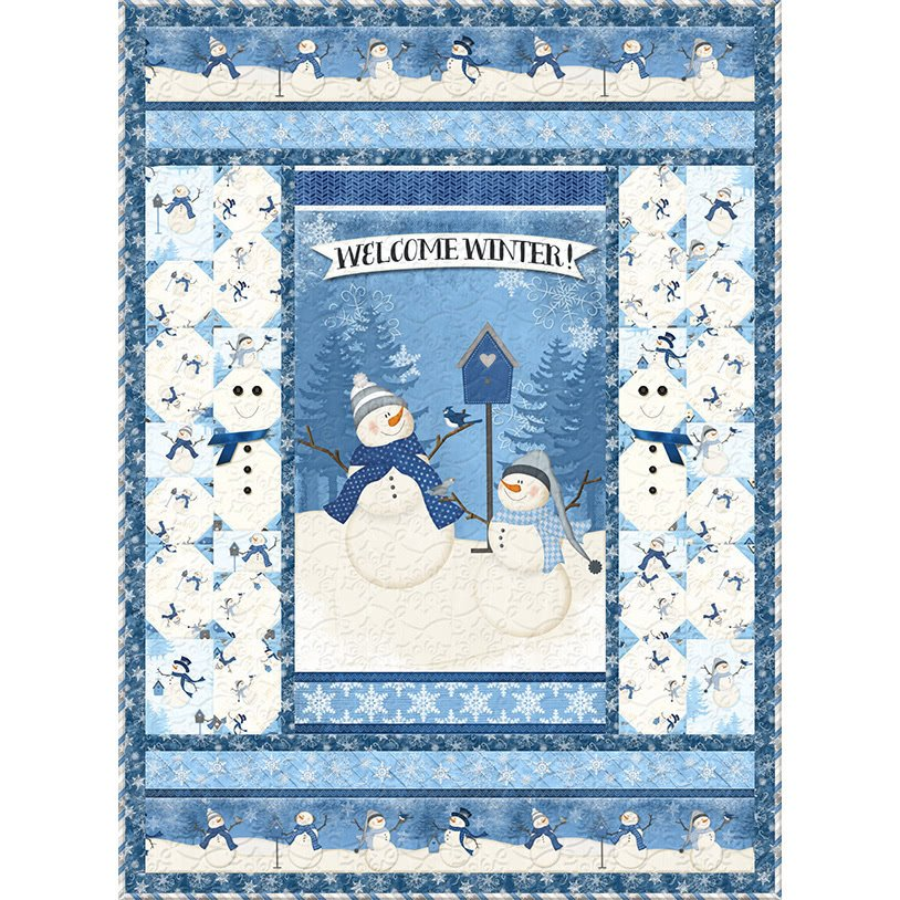 Welcome Winter Quilt Kit