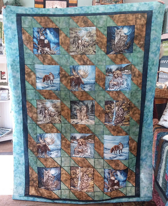 Wilderness Expression Quilt Kit