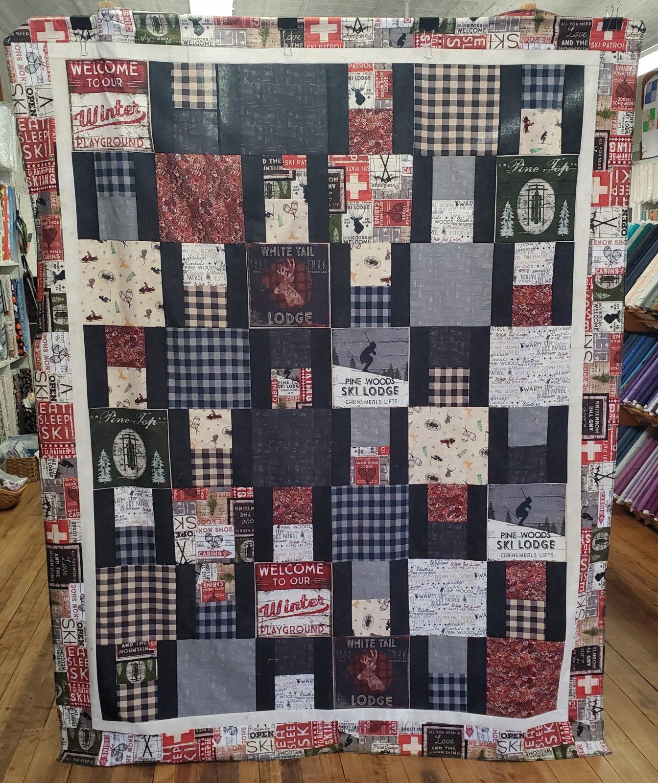 Winter Playground Quilt Kit