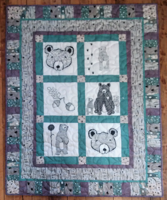 Wolly Bear Girl Quilt Kit