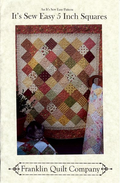 It's Sew Easy 40 Inch SquaresTable Runner And Quilt Pattern 40 Extraordinary Quilt Patterns With 5 Inch Squares