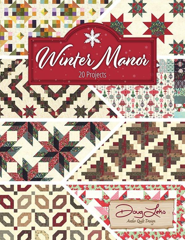 Winter Manor - AQD 0413 Antler Quilt Desi