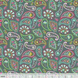 Desert Blooming Paisleys Teal - 101.148.02.1
