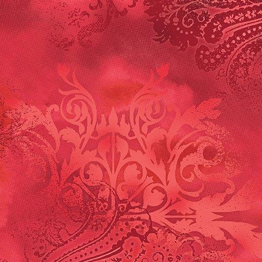 1046-10 Dreamscape Scarlet