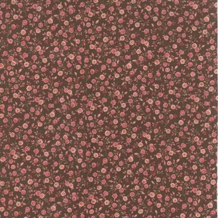 Roses Chocolate by Moda -  32925 - 21 - Chocolate