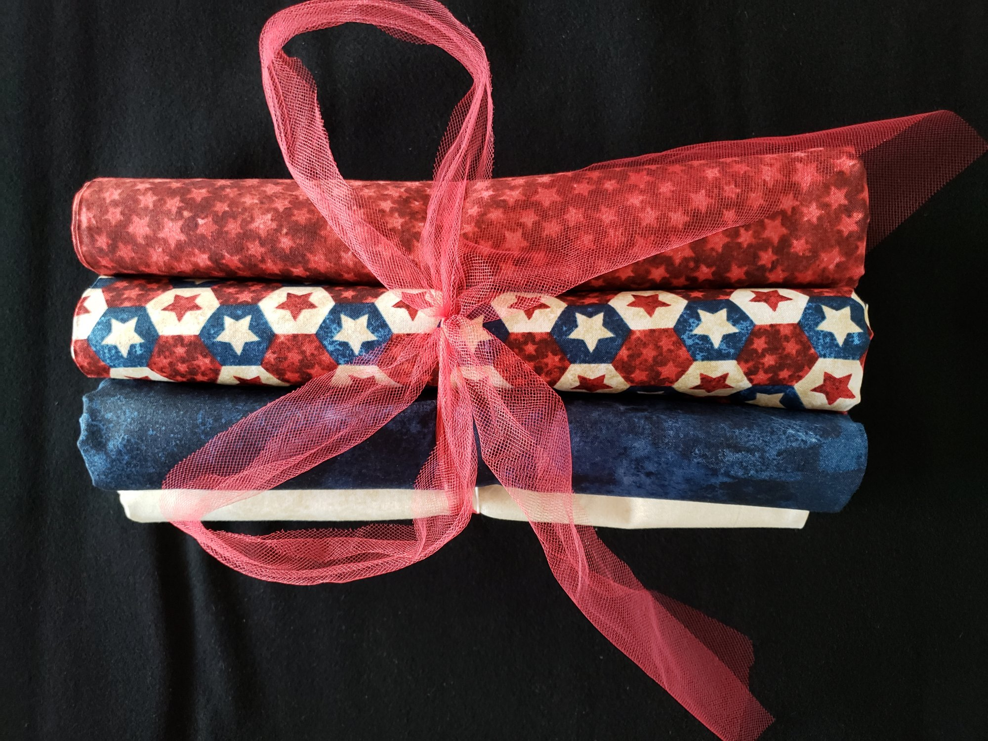 6 Pack Quilt Kit NO Pattern - Patriotic