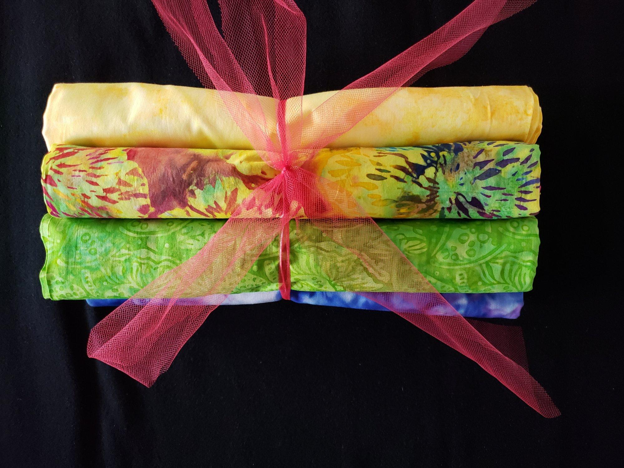 6 Pack Quilt Kit NO Pattern - Batiks