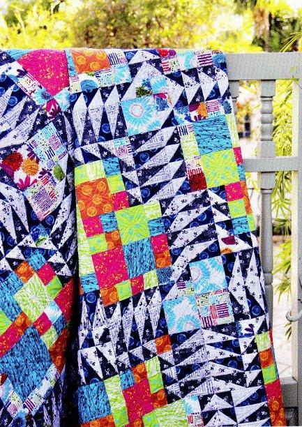 48 Peaks Quilt Kit 72x72