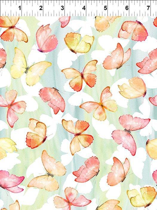 4PAT-1 Patricia / Butterflies - Soft Multi