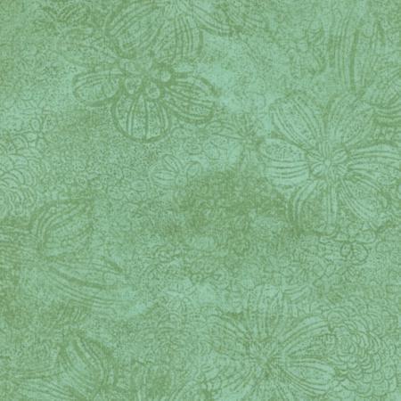JBP - 6931-026 - Flower Texture - Celadon