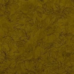JBP - 7132-022 - Floral Outline - Seaweed